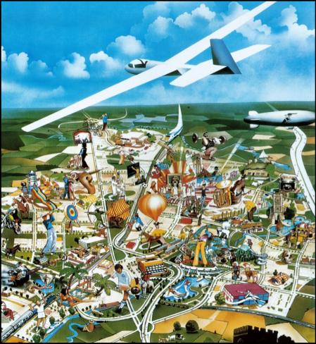 Artist Impression Plane